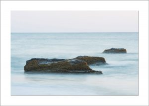 5x7 Photo Card: Aquinnah 3 Rocks