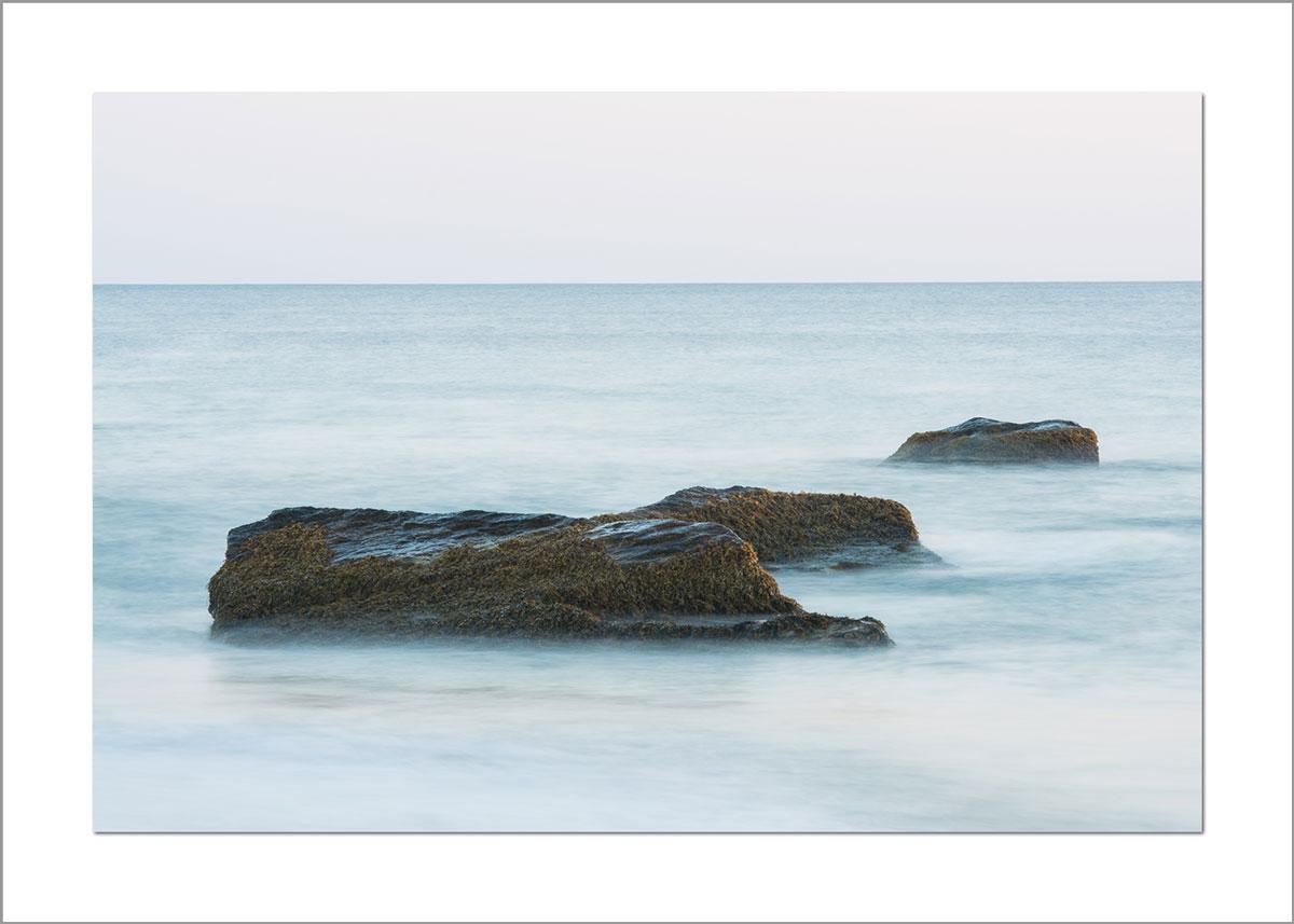 5x7 Photo Card: Aquinnah 3 Rocks