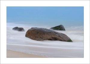 5x7 Photo Card: Aquinnah Beach, Rocks, Sand