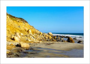 5x7 Photo Card: Aquinnah Cliffs and Beach