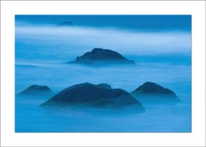 5x7 Photo Card: Blue Rocks