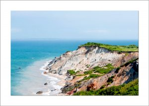 5x7 Photo Card: Gay Head Cliffs 2