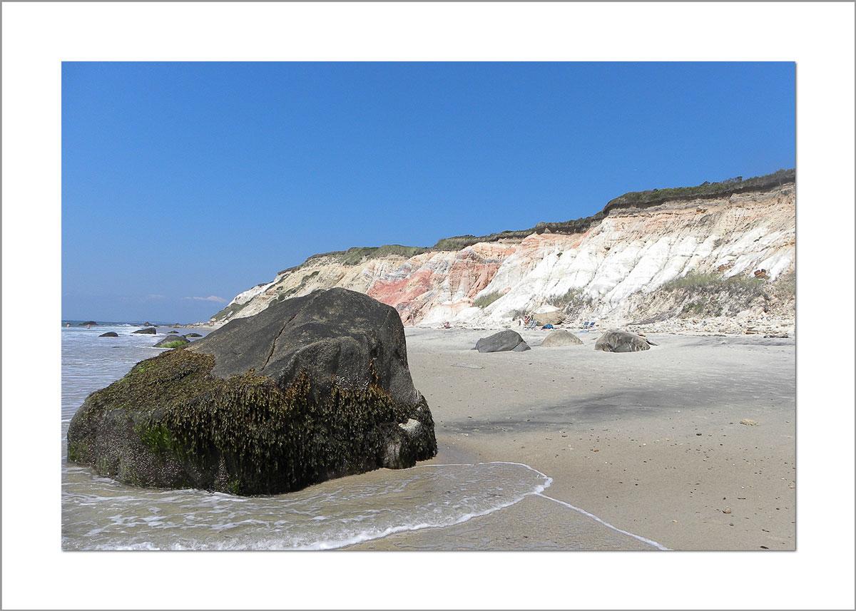 5x7 Photo Card: Moshup Beach and Rock