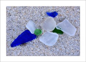 5x7 Photo Card: Sea Glass
