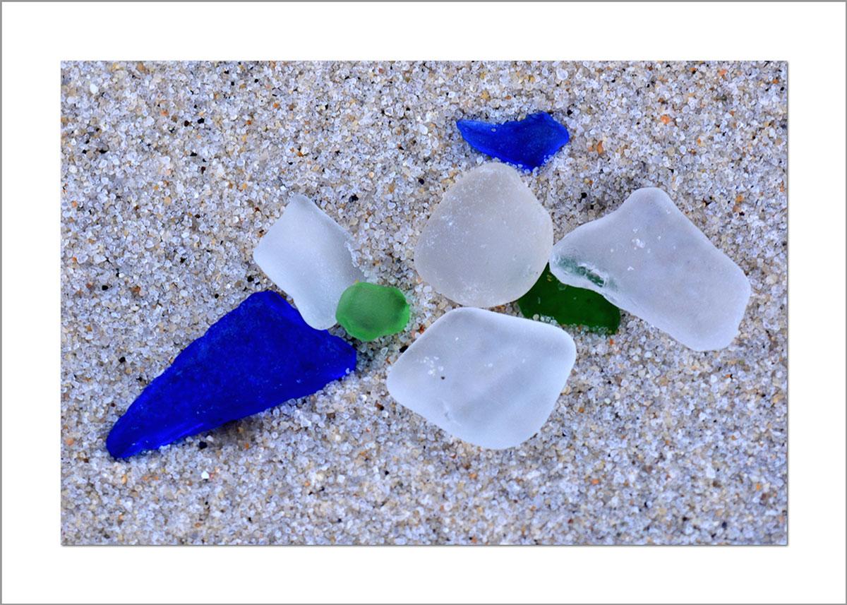 5x7 Photo Card: Sea Glass