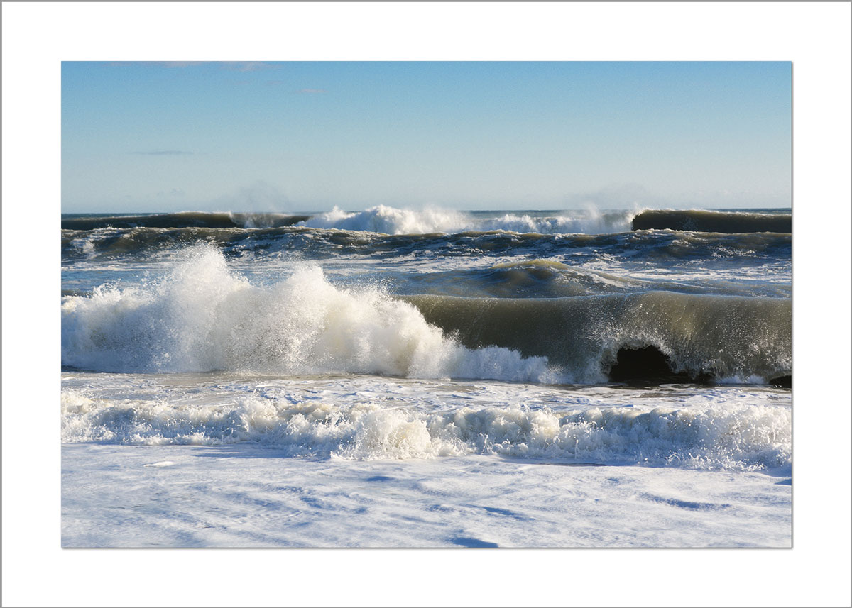 5x7 Photo Card: South Beach Waves