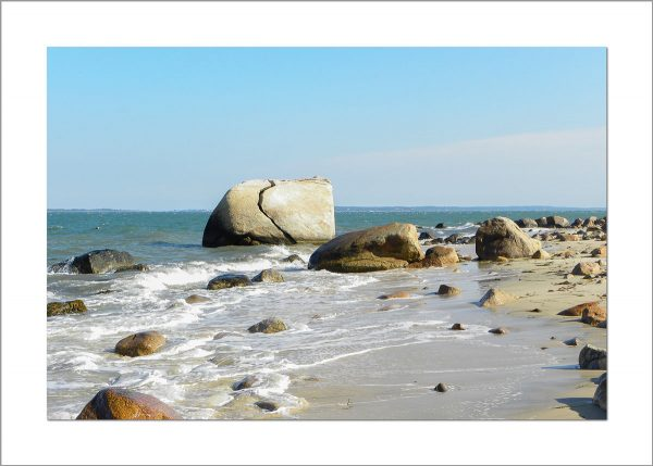 5x7 Photo Card: Split Rock Small