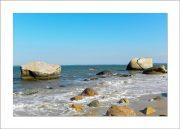 5x7 Photo Card: Split Rock with Other Rocks
