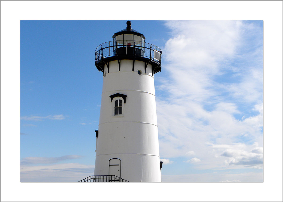 5x7 Photo Card: Edgatown Lighthouse