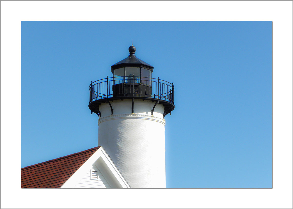 5x7 Photo Card: West Chop Lighthouse