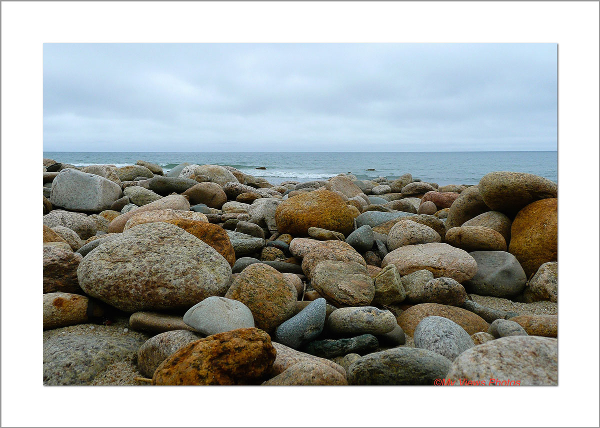 5x7 Photo Card: Moshup Beach Rocks copy