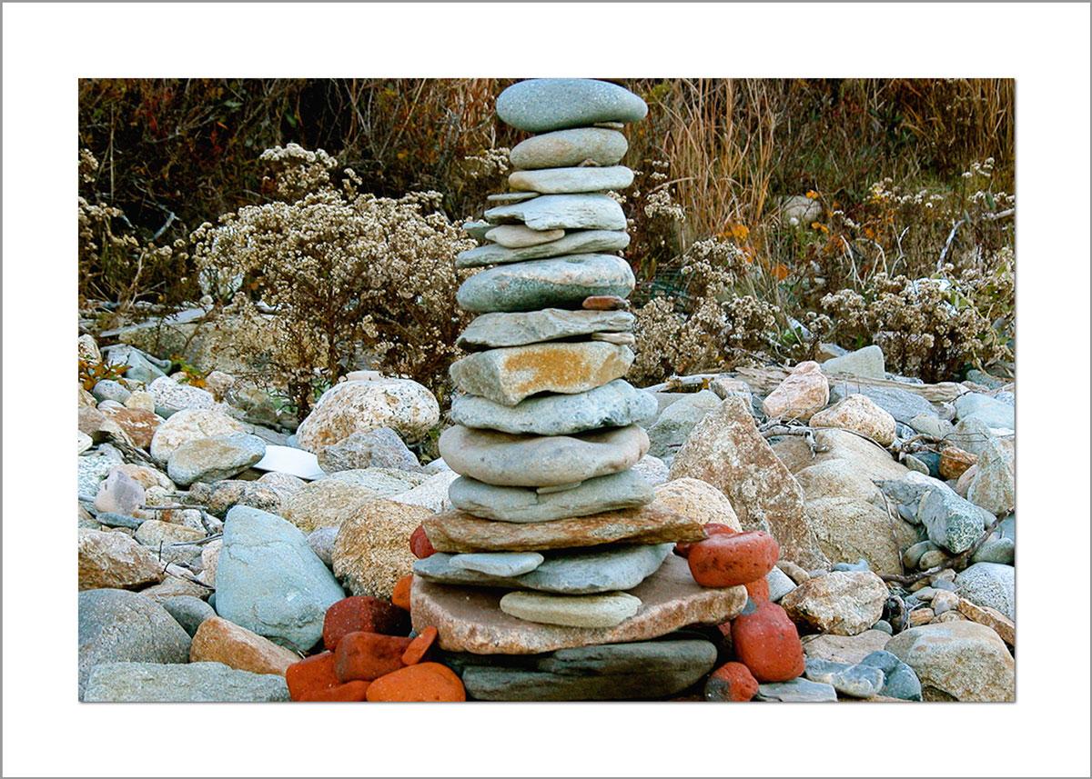 5x7 Photo Card: Rock Pile