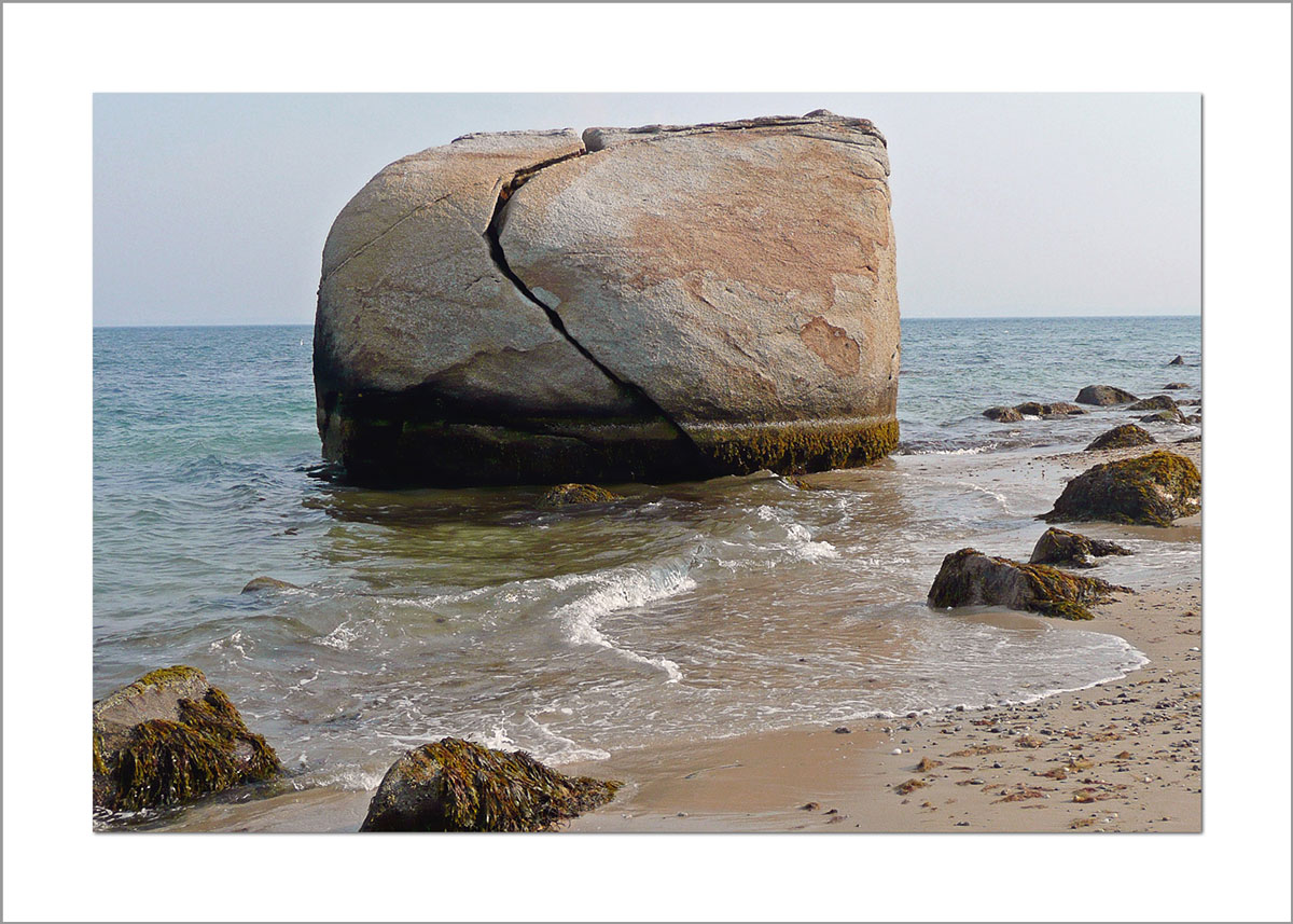 5x7 Photo Card: Split Rock Large