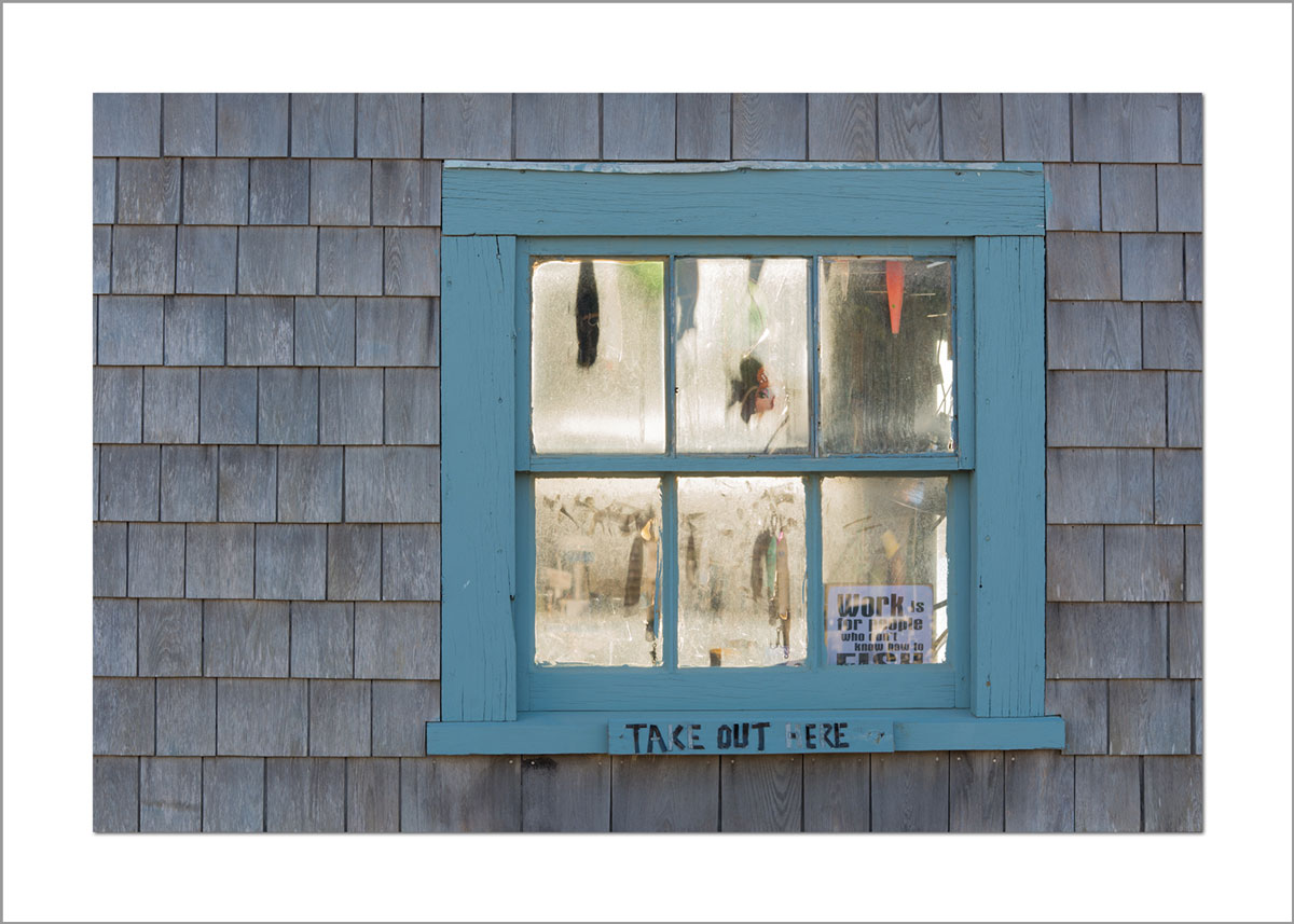 5x7 Photo Card: Menemsha Fishing Shack