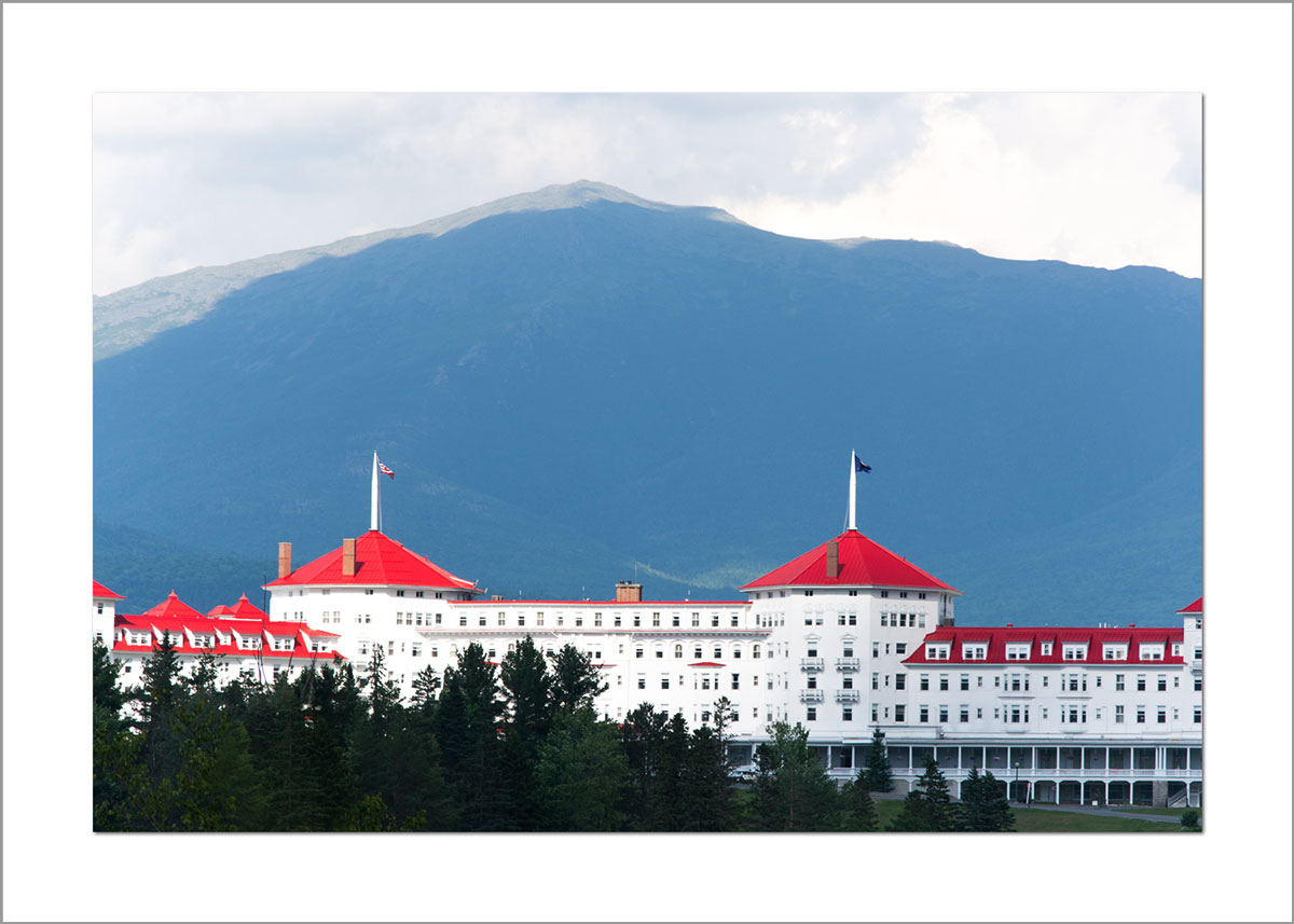 5x7 Photo Card: Mt. Washington Hotel