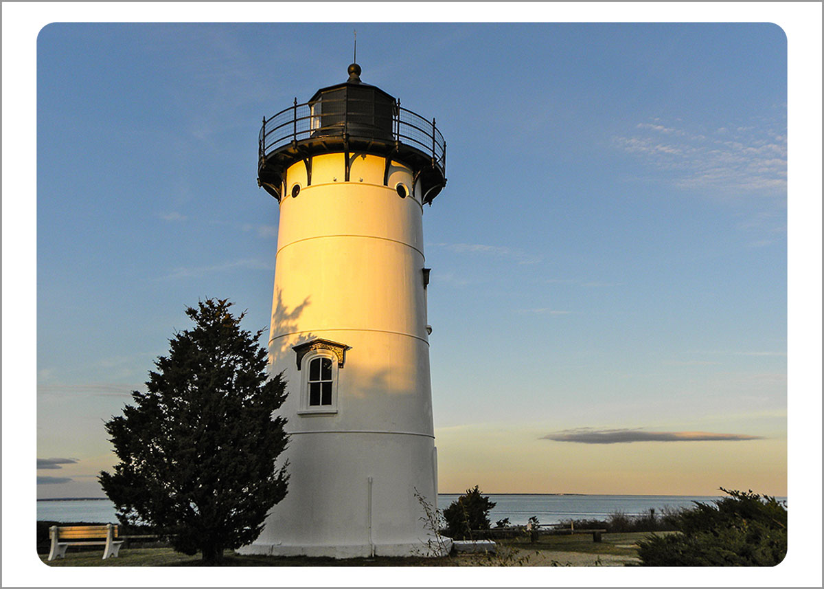 Boxed Gift Enclosures: East Chop Lighthouse (Box of 5)