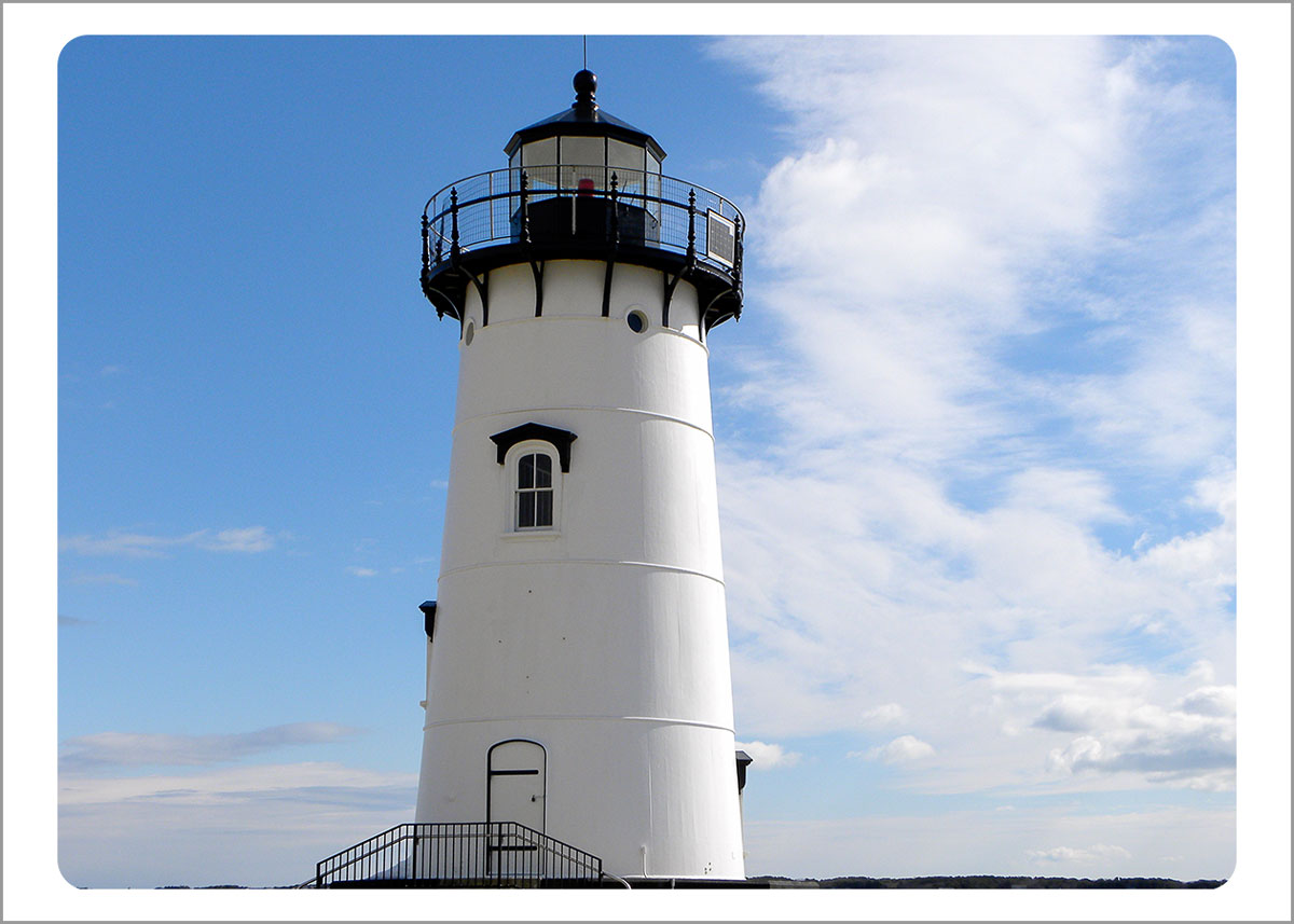 Boxed Gift Enclosures: Edgatown Lighthouse (Box of 5)