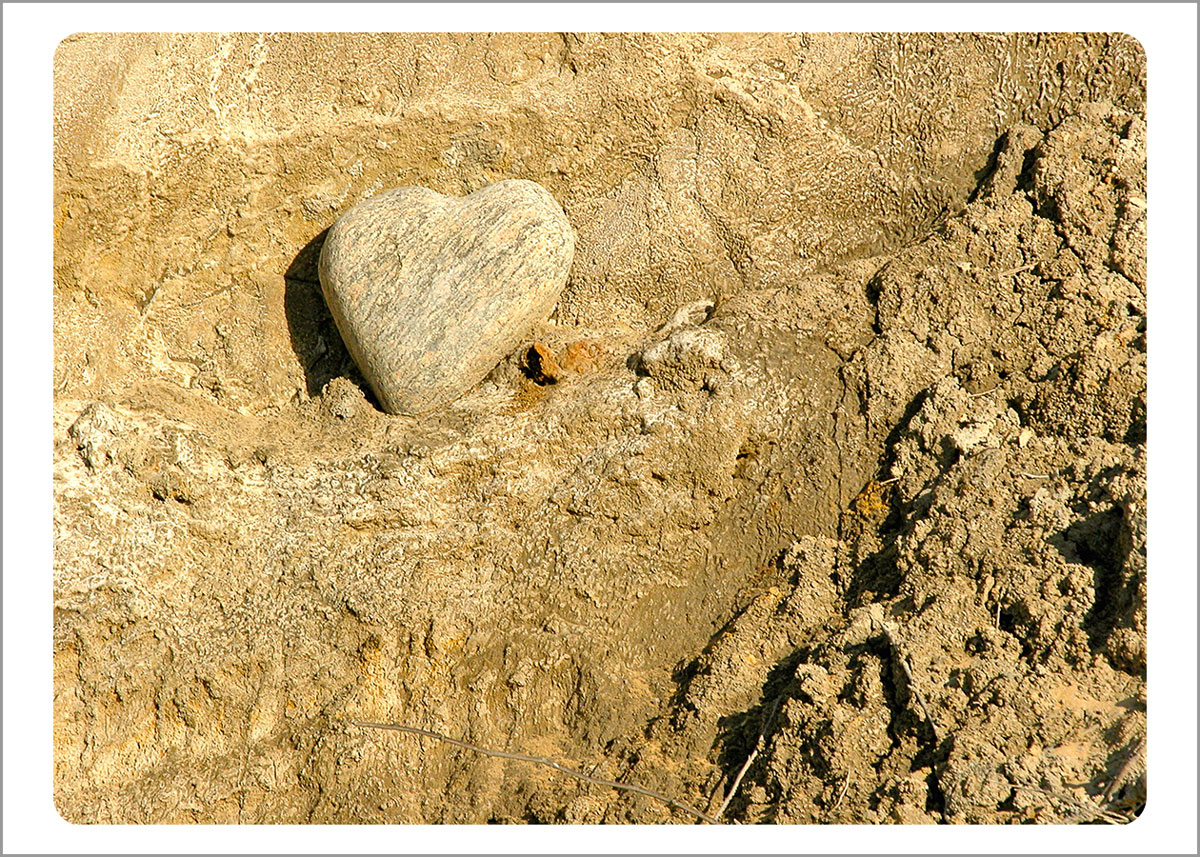 Boxed Gift Enclosures: Heart Rock (Box of 5)
