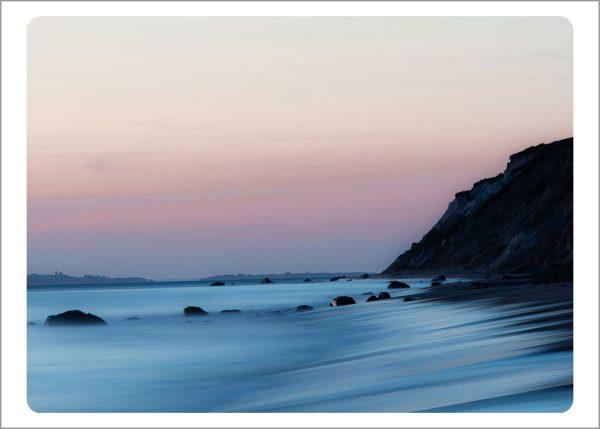 Boxed Gift Enclosures: Aquinnah Cliffs Sunset (Box of 5)