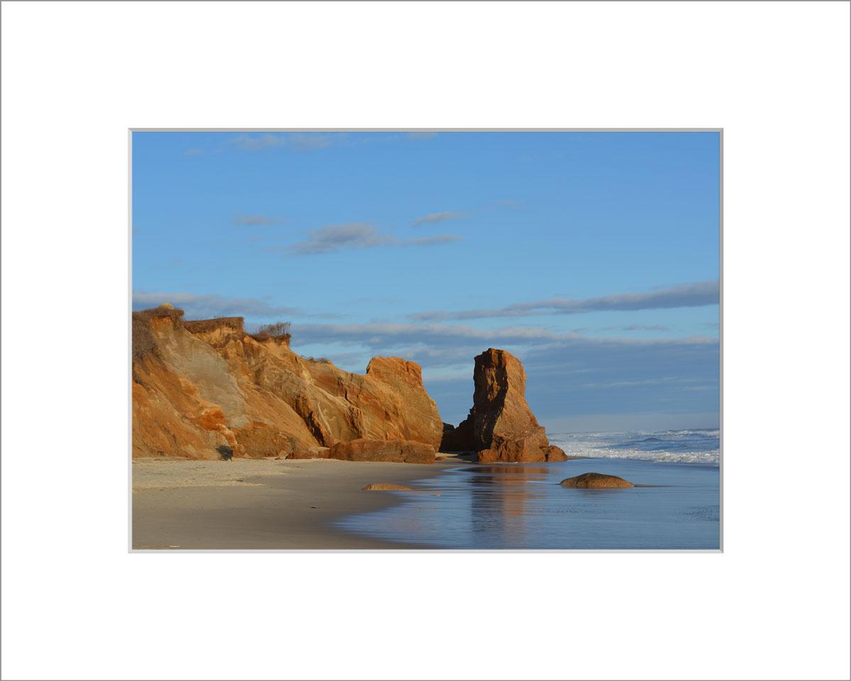 Matted 5x7 Photo: Lucy Vincent Beach Cliffs