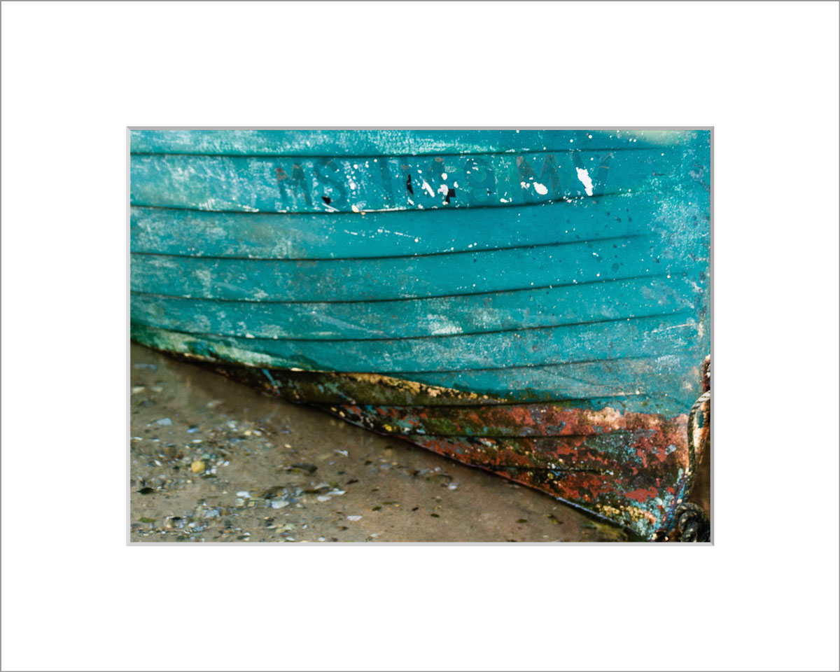 Matted 5x7 Photo: Menemsha Blue
