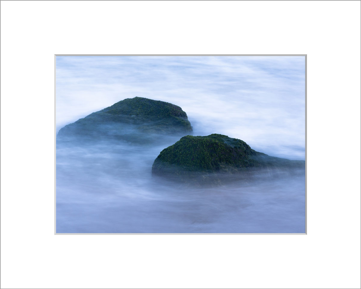 Matted 5x7 Photo: Smoky Rocks - Lucy Vincent