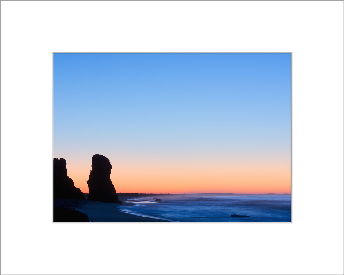Matted 5x7 Photo: Sunrise Lucy Vincent Beach