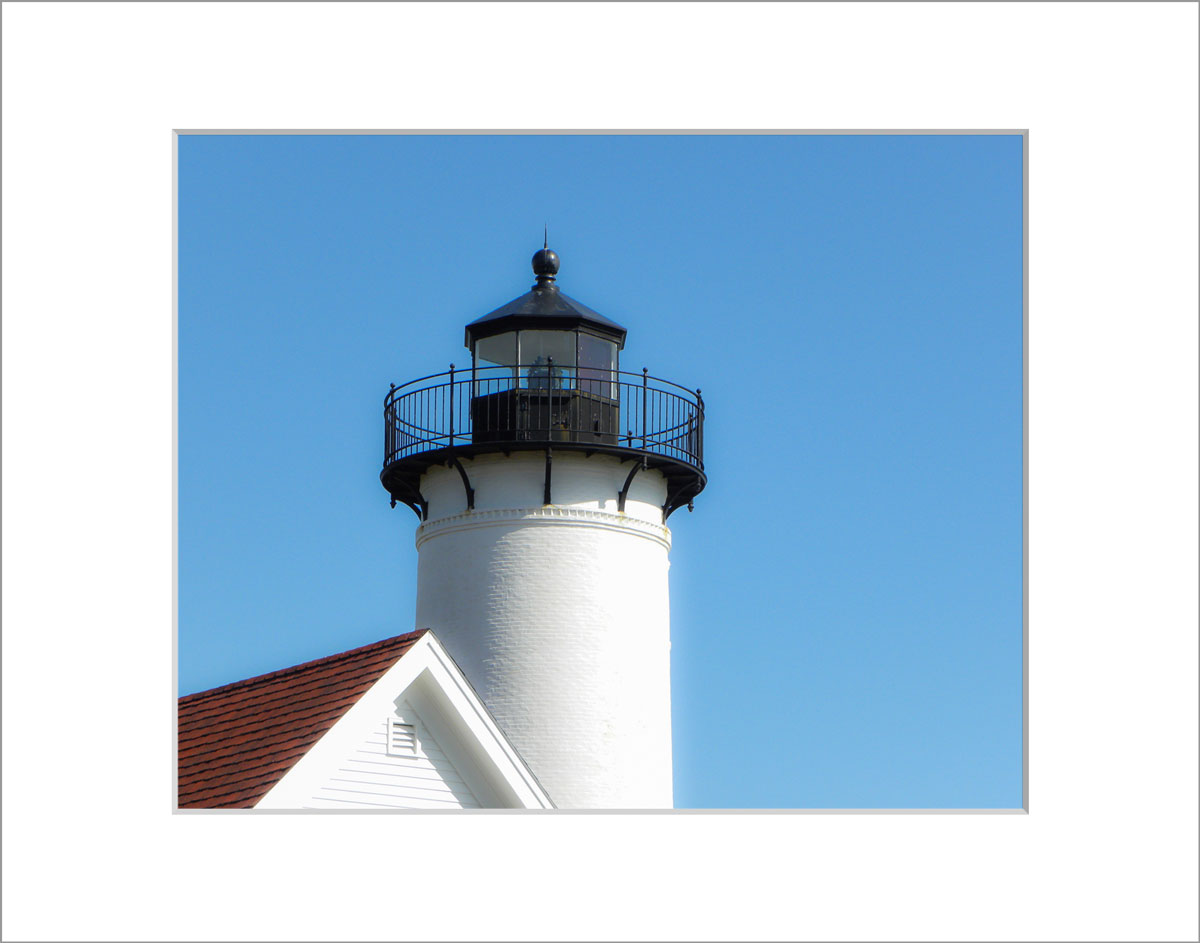 Matted 8x10 Photo: West Chop Lighthouse