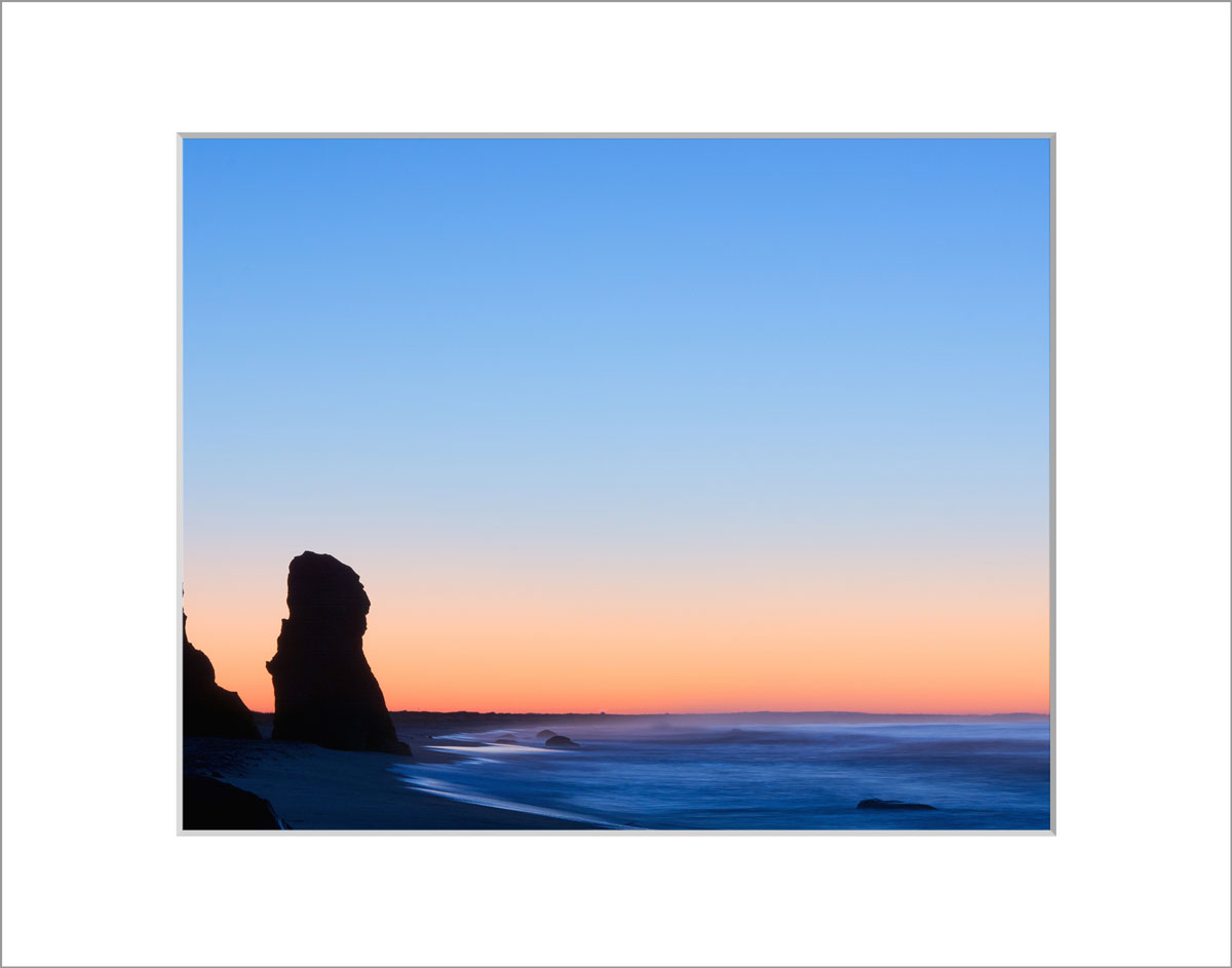 Matted 8x10 Photo: Sunrise Lucy Vincent Beach