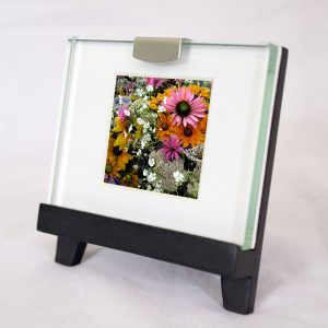 Mini Frame: Bouquet PInk Daisy