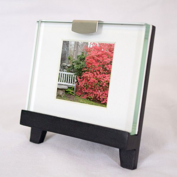Mini Frame: Azalea and Bench