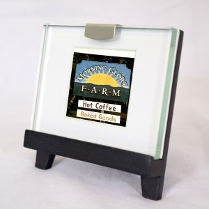 Mini Frame: Morning Glory Farm Sign