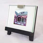 Mini Frame: Pink House Oak Bluffs Campground